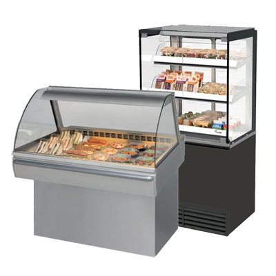 Heated & Refrigerated Displays